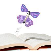 سحر فراشة تطير الفراشة تغيير مع فارغة اليدين الحرية الفراشة السحر الدعائم الخدع السحرية لعب الاطفال DHL SS296