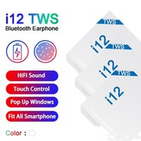 i12 TWS Wireless Earbuds Bluetooth 5. 0 Headphone Mini Touch ...
