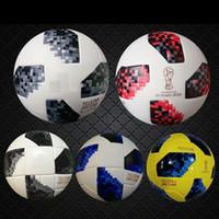 2018 partido de eliminatoria rojo RUSSIA Premier PU balón de fútbol Balón de fútbol mundial PU Campeón Deporte al aire libre Entrenamiento Calcio Cup Futebal