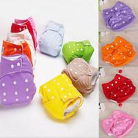 1Pcs Neonato Bambino registrabile riutilizzabile Per 3-13kg capretti del bambino delle ragazze dei neonati pannolini di stoffa lavabili Pannolini