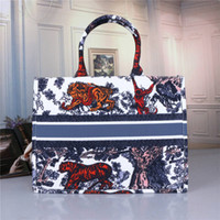 2020 Moda Hot Handbag Designer Imprimir Bordados Multicolor ombro único grande capacidade Bucket Bag