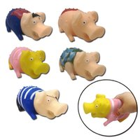 Novelty Screaming Vent Pig Decompression Toys Chew Sound Pla...