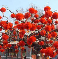 """10 stücke 6 """"8"""" 10 """"12"""" 14 """"16"""" Rot Chinesische Traditionelle Papierlaterne 6 Größen Waben Für Neujahr Hochzeit Geburtstag Decor"""
