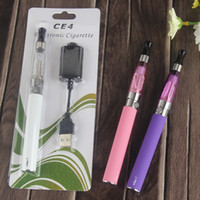 Kit de démarrage authentique eGo CE4 eGo-t vape stylo batterie CE4 e atomiseur liquide vaporisateur 510 ecig batteries de fil électrique cigarettes dhl