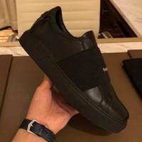 Los diseñadores de lujo para mujer para hombre Causal zapatillas de deporte de cuero de París Comfort Slip-en los instructores de moda para fiestas zapatillas de deporte con la caja Chaussures