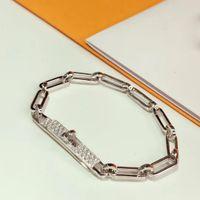 Caliente de lujo para mujeres de calidad Carta Ronda H Lock joyería S925 brazalete Conjunto Francia Calidad de oro de oro rosa pulsera Superior
