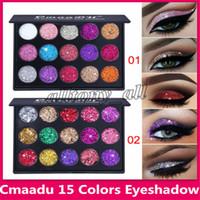 Date CmaaDu Maquillage Palette Ombre À Paupières 15 Couleur Diamant Paillettes Brillant Glitter Eye Maquillage 2 Styles