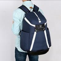 Atacado-homens mochila para saco de escola adolescentes meninos bolsa de laptop backbag homem escola mochila mochila EUA elite kevin durant kd