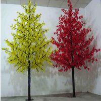 1152pcs Светодиодные лампы LED Cherry Blossom Tree Light LED Свет Рождества 2м 6.5ft Высота Водонепроницаемые Usage Перевозка груза падения Бесплатная доставка