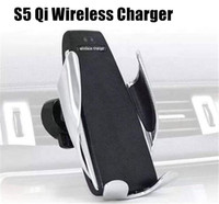 S5 Qi Car Wireless Charger Automatic Sensor Intelligent Infr...