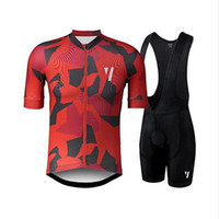 Cycling jersey set bike shorts Quick Dry Mens Bicycle clothe...