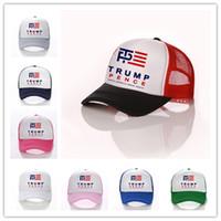 2020 été de paix Trump Casquette de baseball Marque Amérique Grande Encore une fois maille lettre chapeau de baseball Snapback imprimé sport chapeaux balle plage Visor D3402