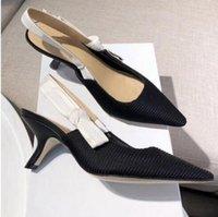 Moda coma tacón sling back boom bozo vendaje zapatos planos zapatos mujer pista puntiagudo punta gladiaor sandalias