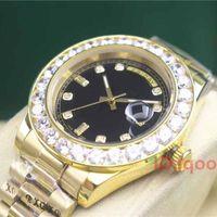 Золото из нержавеющей стали мужские алмазные обледенелые роскошные Женева 2183 автоматические дизайнерские модные часы Reloj часы Наручные часы
