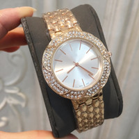2019 Fashion Top brand Rose gold women watch special model L...