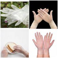 100 шт. / лот одноразовые перчатки ПВХ резиновый материал высокой плотности перчатки для чистки перчатки T3I5700