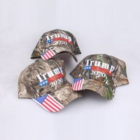 Camouflage Donald Trump hats USA Flag baseball cap 2020 Hat ...