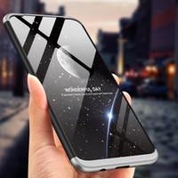 Estuche rígido ultra delgado híbrido mate para Samsung Galaxy M20 M10 S10 Plus Nota 9 S9 + S8 + S7 Edge S6 A6 A8