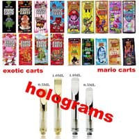 2019 Newest Holograms Package Mario Exotic Carts Bag With Go...