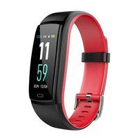 Relojes inteligentes Y9 Monitor de ritmo cardíaco de presión arterial Rastreador de ejercicios Reloj inteligente Pulsera inteligente a prueba de agua para IOS Android Pulsera para teléfono celular