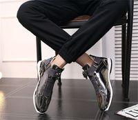 2019 con scatola New Outdoor Trend Fashion Sports Sports Shoes Tide Single Dress, Red Carpet preferito Scarpe da uomo brillante brillante