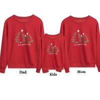 2018 Navidad de la familia Mismo vestido de verano Familia configuración uniforme de ropa hija de la madre sudaderas con capucha calientes camiseta de regalo