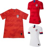 82cdea037 S-2XL New Usa DEMPSEY PULISIC copa america home white away Soccer Jersey  men Football Uniform ALTIDOR MORGAN women football shirts 2019