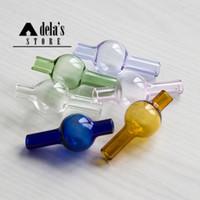 Verre Bubble Carb Cap pour XL XXL thermique plus Banger Nails Enail verre Bong tube diamètre extérieur de 20 mm coloré Nail Set 558 aussi vendre