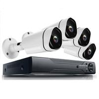 في الهواء الطلق كيت مراقبة الفيديو 1080P 2000TVL نظام كاميرا الأمن HD الرئيسية نظام الدوائر التلفزيونية المغلقة 4ch AHD 4 مجموعة الكاميرا في الهواء الطلق