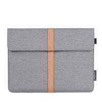 """Водонепроницаемый планшетный чехол для ноутбука с чехлом 13 """"14"""" 15 """"универсальный серый"""