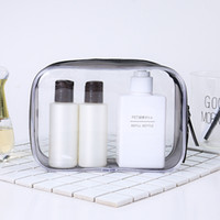 NEW Trendy Transparent Cosmetic Bag PVC Plastic Toiletry Bag...
