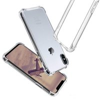 For iPhone X XS MAX XR 7 8 Crystal Clear TPU Case Shock Abso...