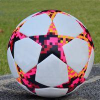 tamanho de bola de futebol de 5 bola de futebol sem emenda Training Equipment Professional objetivo da equipe Exercício Jogo Football Cup Sports Bola