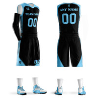 2018 Men' s Custom Basketball jerseys sets same star #00...