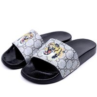 Hiphop Pattern Women Personality Slipper Fashion Designer Gi...