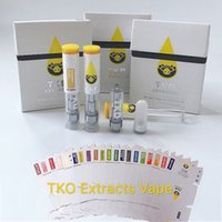 New TKO Extracts Vape Cartridge Packaging 0. 8ml 1ml Ceramic ...