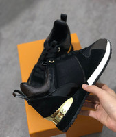 2018 NEW luxury leather casual shoes female designer sports ...
