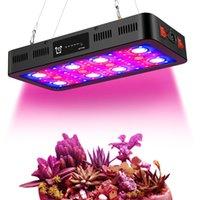2400W Timer Control LED växer ljus, full spektrum LED växer ljus med veg och blommväxlar för växter i olika växande stadier
