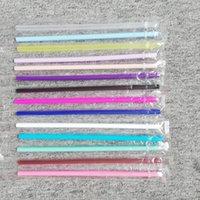 FDA сертификации пищевого сорт 24.5cm Straight многоразовых Цветные пластиковых трубочек Экологичных PP Пейте Стро