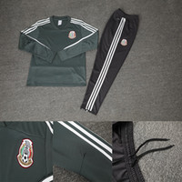 Mexico jacket 2018 Soccer Mexican training suit 10 Giovani d...