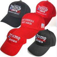 2019 vendite calde Donald Trump 2020 Berretto da baseball rendere l'America Great Again Cappello ricamo mantenere l'America Grande cappello tappi repubblicano Presidente Trump