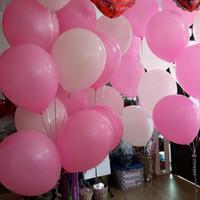 100pcs 12 polegadas 2,8 g rosa da festa White Rose Red Thicken Látex Balão Balão Romantic Holiday Wedding Decoração Balões