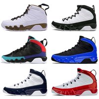nike air jordan retro 9 Jumpman 9 9s Männer Basketball-Schuh-Gym Red 3M Racer Blue Dream es tun es Snakeskin OG Space Jam Designer Herren Turnschuh-Trainer