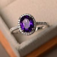 Cross-Border-Hot-Selling Hand Schmuck europäischen und amerikanischen Art und Weise Luxus Intarsien Oval Farbe Zircon Spitze höhlen Prinzessin Ring
