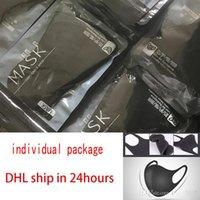DHL embarquons le paquet individuel Bouche-Masque MOUFLE Anti Haze poussière lavable réutilisable Femmes Hommes adulte Masque Masques anti-poussière Visage Bouche 30x13cm