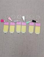 술 연필 키 체인 잘 가방 장식 버클 열쇠 고리 5 센치 메터 플라스틱 독특한 성격 키 체인 교사의 날 선물 2 5tw N1