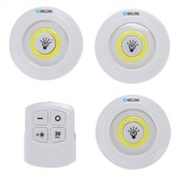BRELONG LED Cabinet Light Night Light Remote Control Dimmabl...