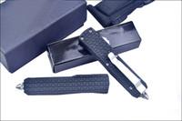 Maneggiare Tanto lama lega Nuovo D07 Mini Piccolo Auto lama tattica 440C Drop Point / zinco-alluminio EDC coltelli da tasca