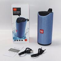 Haut-parleurs TG113 Haut-parleurs sans fil Bluetooth Subwoofers Profil de mains libres Profil d'appel Stéréo Basse Prise en charge TF Carte USB Prise AUX Entrée Hi-Fi Loud
