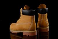 Vente-Classic Hot 10061 blé jaune TBL femmes Bottes Hommes Rétro imperméables travail Sports de plein air Chaussures Sneakers Casual Taille 36-44
